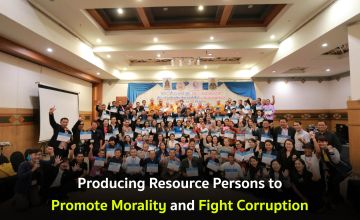 Producing Resource Persons to Promote Morality and Fight Corruption